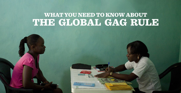 Global Gag Rule Reinstated